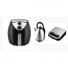 Binatone AIR FRYER BAF-5000MK2 With Electric Kettle And Toaster